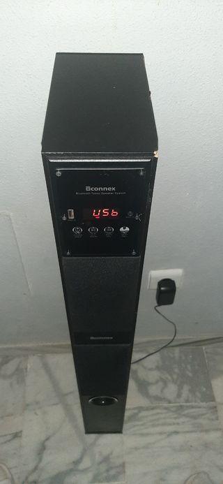 TORRE DE ALTAVOZ con Bluetooth