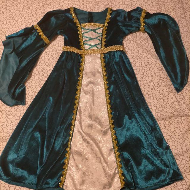 disfraz niña medieval