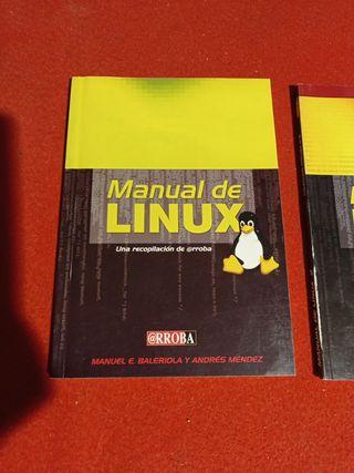 Manual de Linux ( Dos libros)