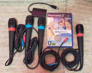 Singstar PS2 y PS3