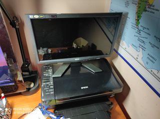 Monitor + Impresora URGE
