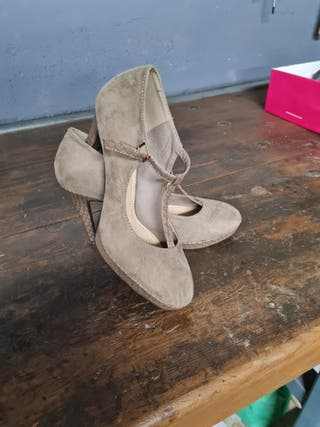 zapatos tacon n 39