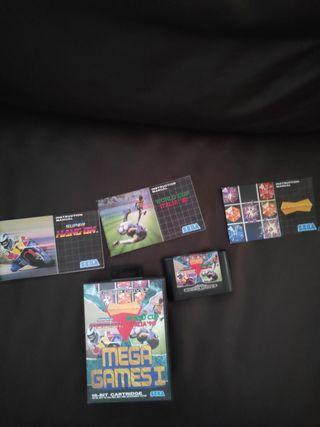 Mega games 1 - Megadrive