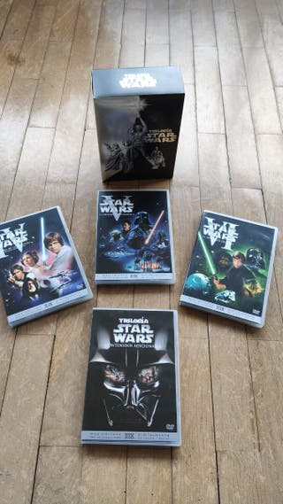 DVD's trilogía original Star Wars