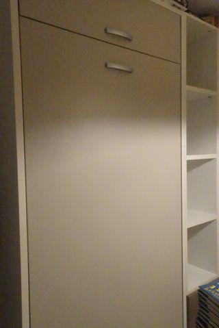 habitación juvenil camas y armario