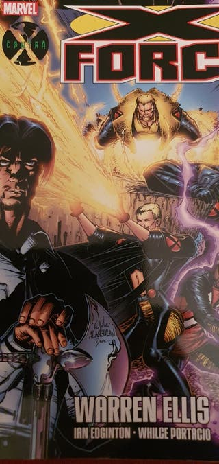 Contra: X Force (Warren Ellis)