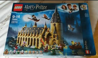 caja vacía lego Harry Potter.Hogwarts Gran comedor