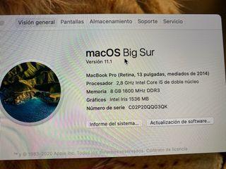 MacBook Pro 13 retina A1502