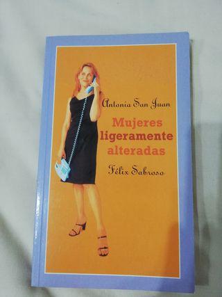 Libro: Mujeres ligeramente alteradas