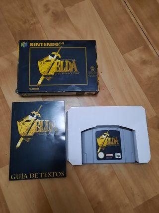 juego de Nintendo 64 zelda
