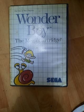 juego sega Wonder boy