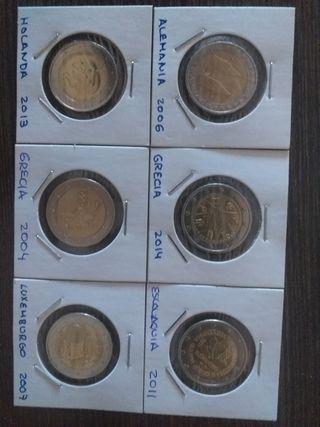 monedas 2€ conmemorativas