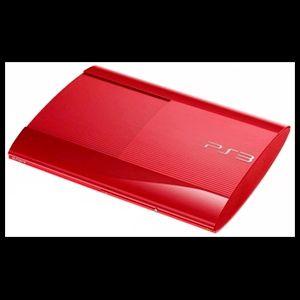 PS3 Slim Roja 500GB