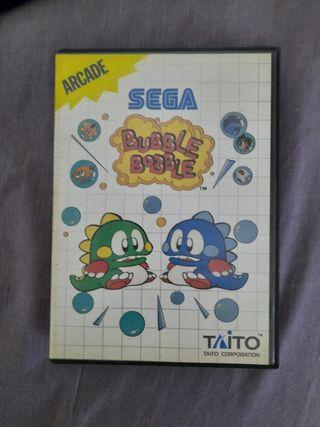 juego sega bubble bobble