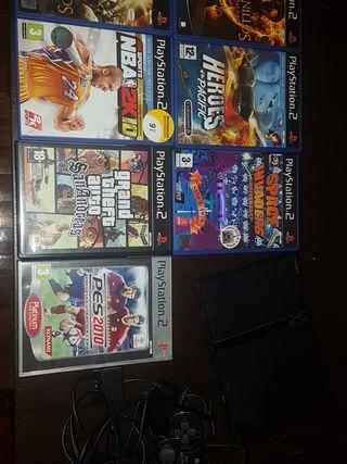 LOTE PLAYSTATION 2 PS2 SLIM