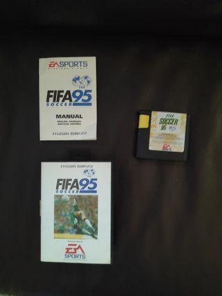 FIFA 95 - Megadrive