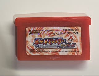 Pokémon Rojo Fuego Japonés