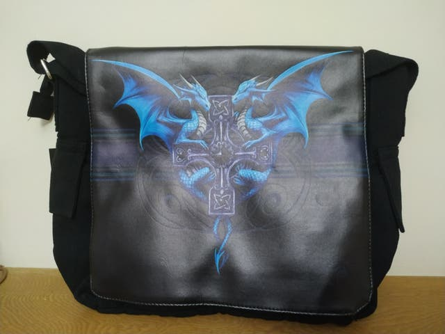 Messenger Bag Dragon Duo (AS) 40cm