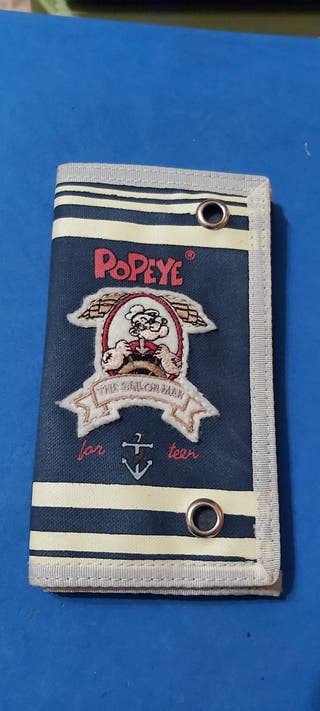 Cartera/Billetero Popeye ( Original )