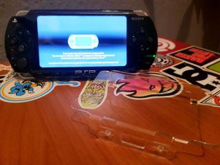 PSP (1000) + protector de pantalla