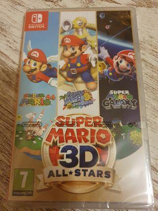 Super Mario 3D ALL STARS nuevo precintado