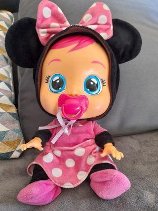 Bebé llorón Minie Mouse