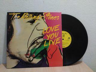 Vinilo The Rolling Stones Love You Live