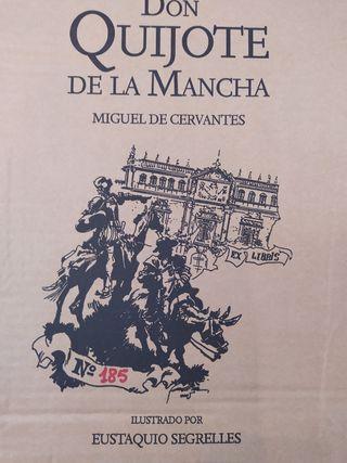 DON QUIJOTE DE LA MANCHA Ed. Coleccionista