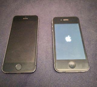 2 iPhone ( iPhone 4 iPhone 5s )