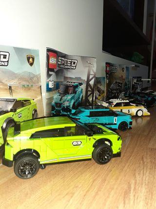 colección coches de Lego