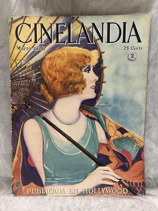 REVISTA CINELANDA MARZO 1928