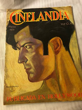 REVISTA ANTIGUA CINELANDIA MARZO 1931