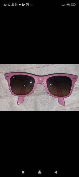 Gafas de sol Ray Ban rosas