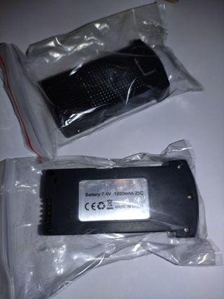 Pack 2 baterias de 5/10 V para Dron E520, E520S