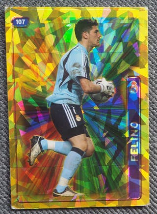 107 CASILLAS R. MADRID MUNDICROMO LIGA 2004-2005