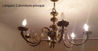 2 lámparas de techo