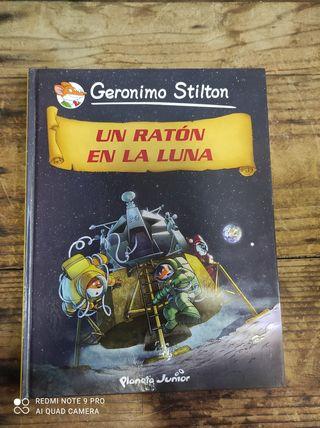 Libro Gerónimo Stilton grande Un ratón en la luna