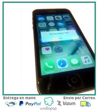 iphone 5S gris espacial como nuevo