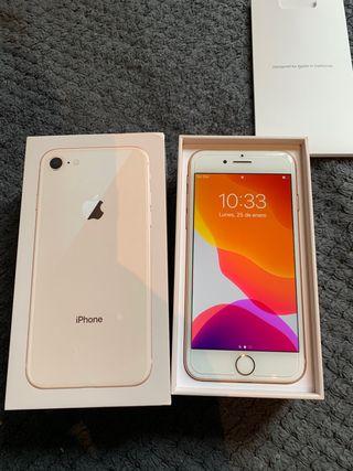 Iphone 8 64gb dorado!!