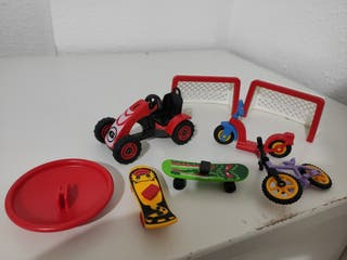 playmobil lote niños parque
