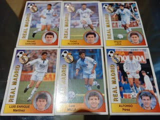 CROMOS REAL MADRID