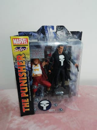 figura punisher Marvel select