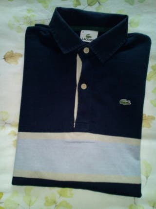 "Polo Lacoste manga larga ""IMPECABLE"" ""ORIGINAL"""