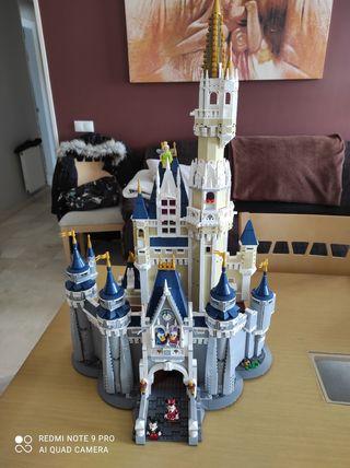 castillo Disney construcción