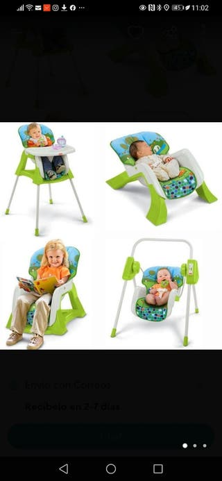 trona evolutiva fisher price 4 en 1