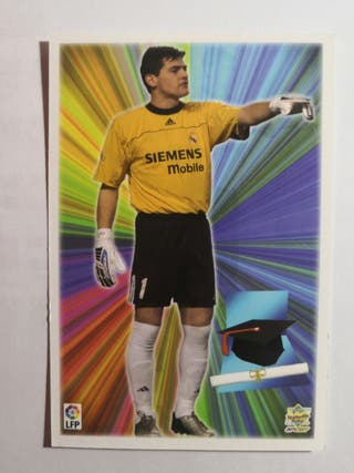 card Casillas Real Madrid 2004