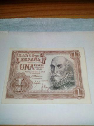 1 Peseta del año 1953
