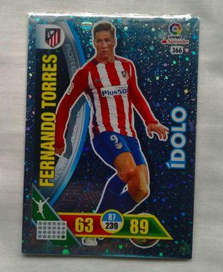 Cromo Adrenalyn/Ídolos (Fernando Torres)