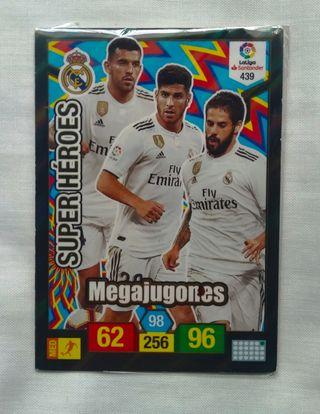 Cromo Adrenalyn/Super heroes (Real Madrid)