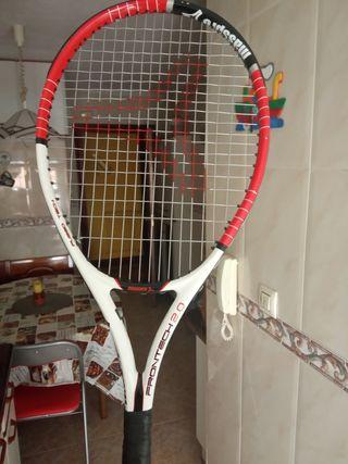 raqueta de frontenis masspro, utilizada 2 veces